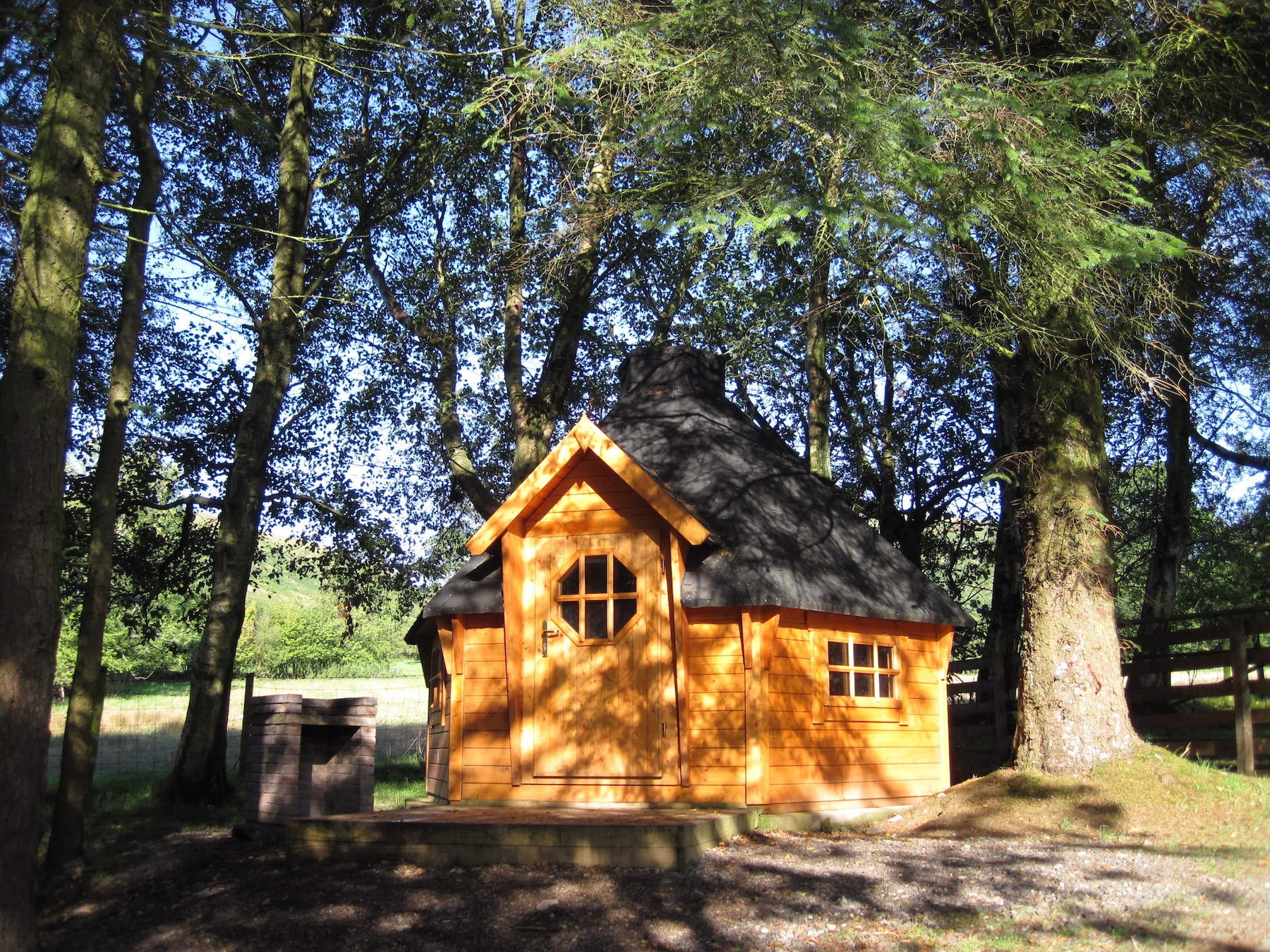 camping cabins at Ullswater Holiday Park