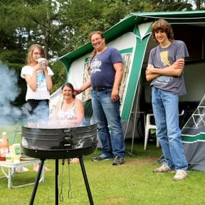 Camping at Ullswater Holiday Park