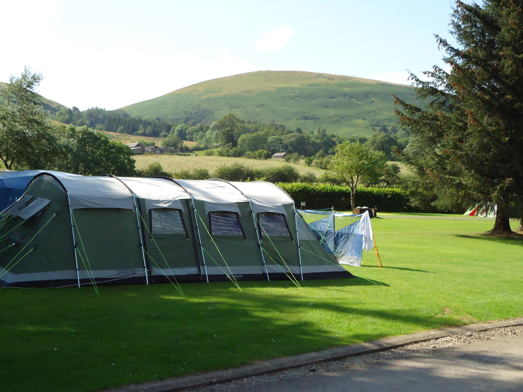 camping tents at Ullswater Holiday Park
