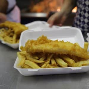 Fish & Chips in Ullswater